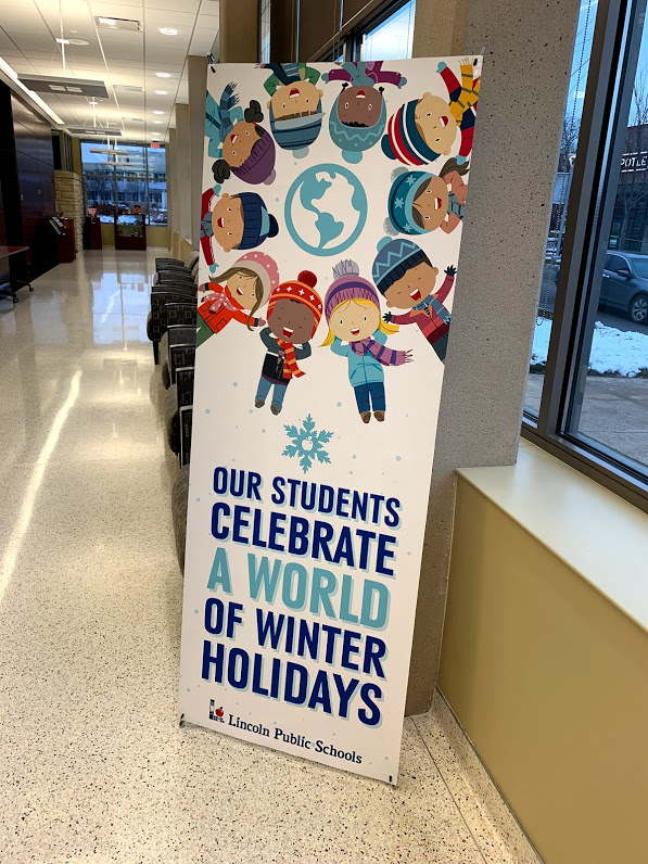 District Office Winter Banner