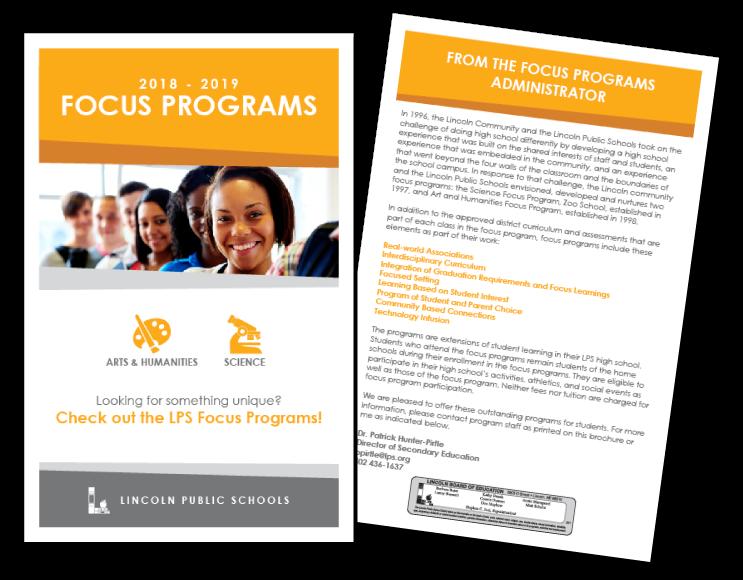 Focus Program Information