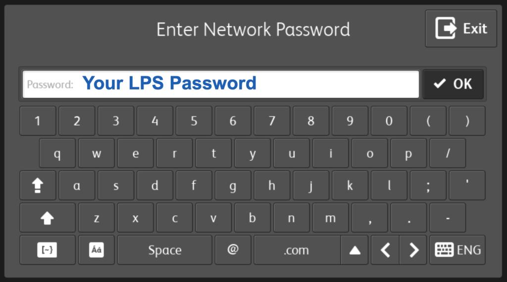 LPS Password