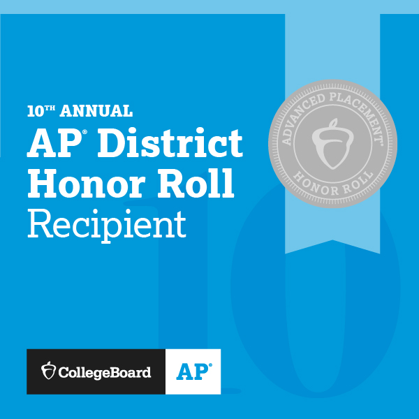 10th Annual AP District Honor Roll Recipient