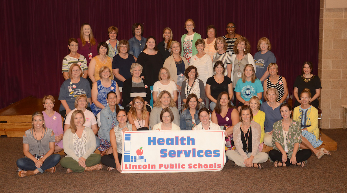Group Photo of the 2018-2019 School Nurses