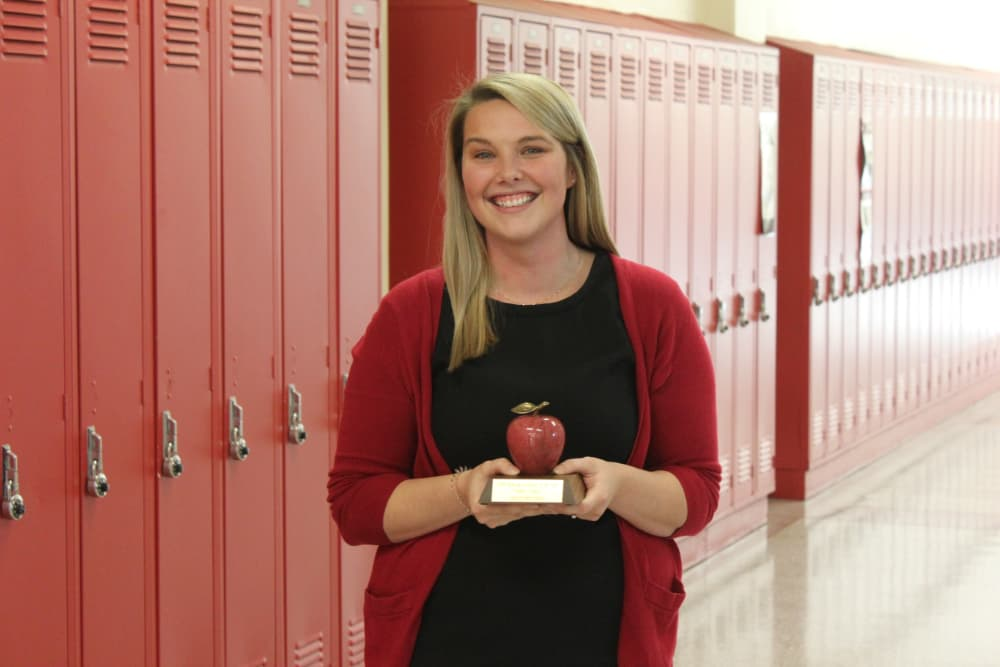 Photo of 2019 Nebraska Teacher of the Year, Sydney Jensen