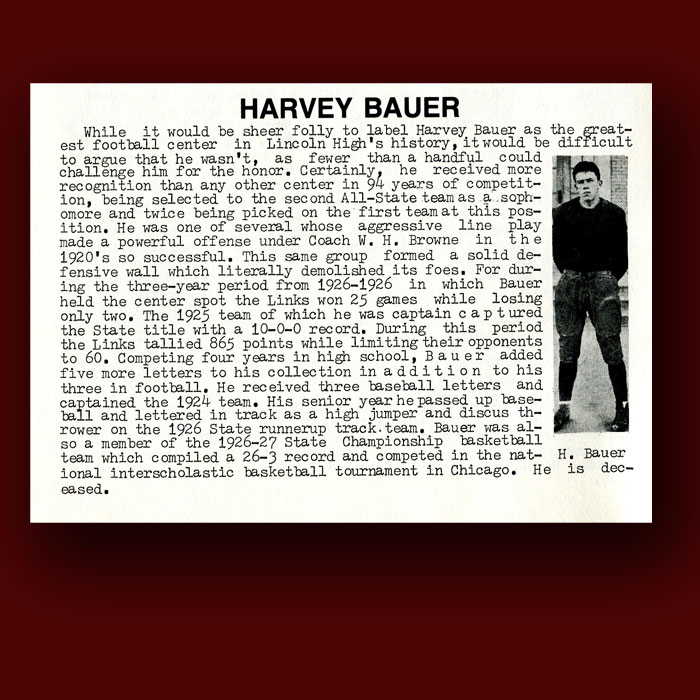 Harvey Bauer bio