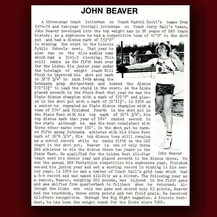 John Beaver bio