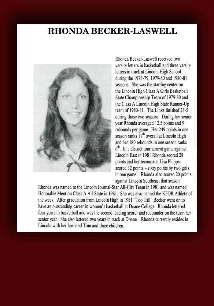 Rhonda Becker bio