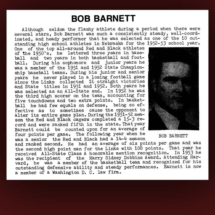 Bob Barnett bio