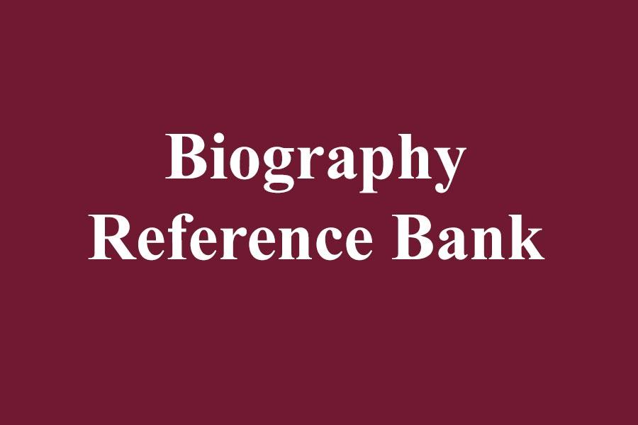 Biography Reference Bank