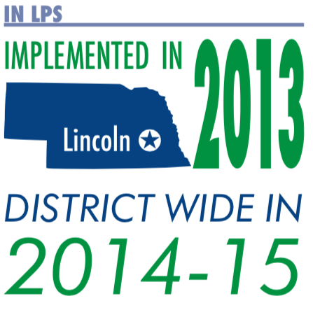 Implemented in LPS in 2013, district wide in 2014-2015