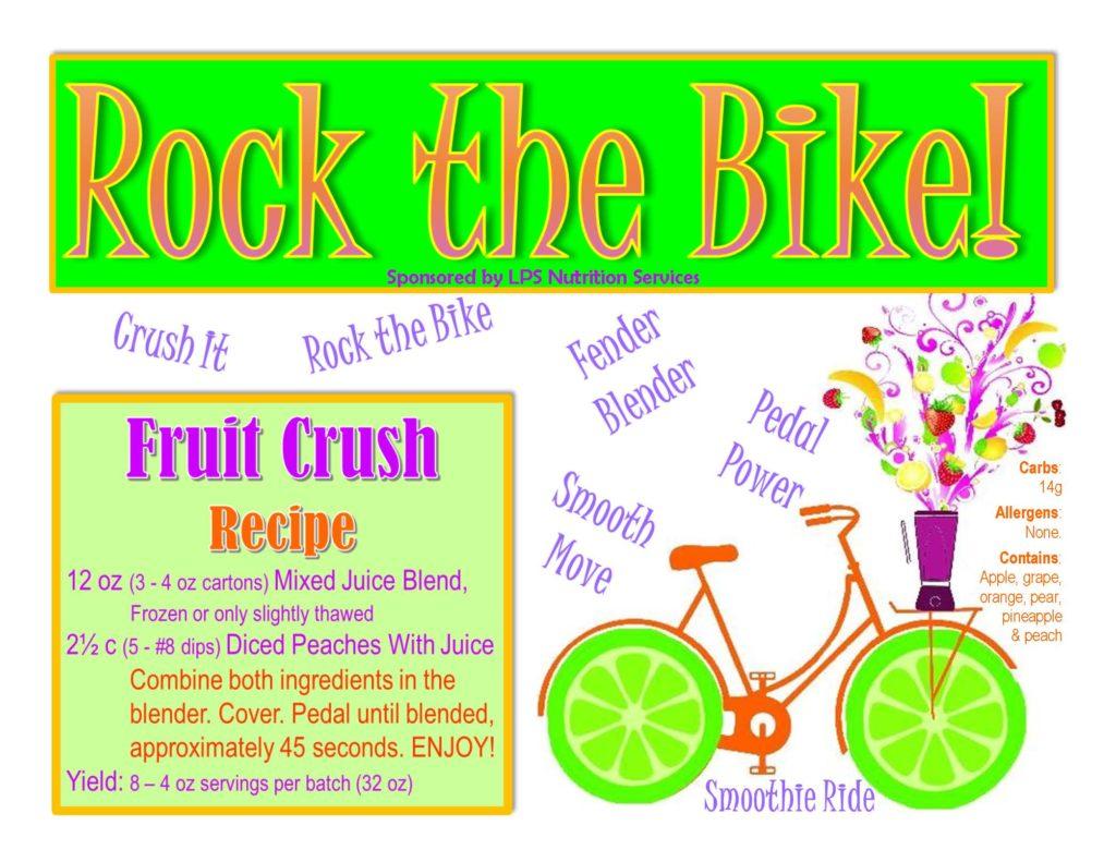 Rock the Bike Recipe Link