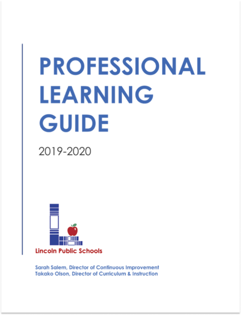 Professional Learning Guide