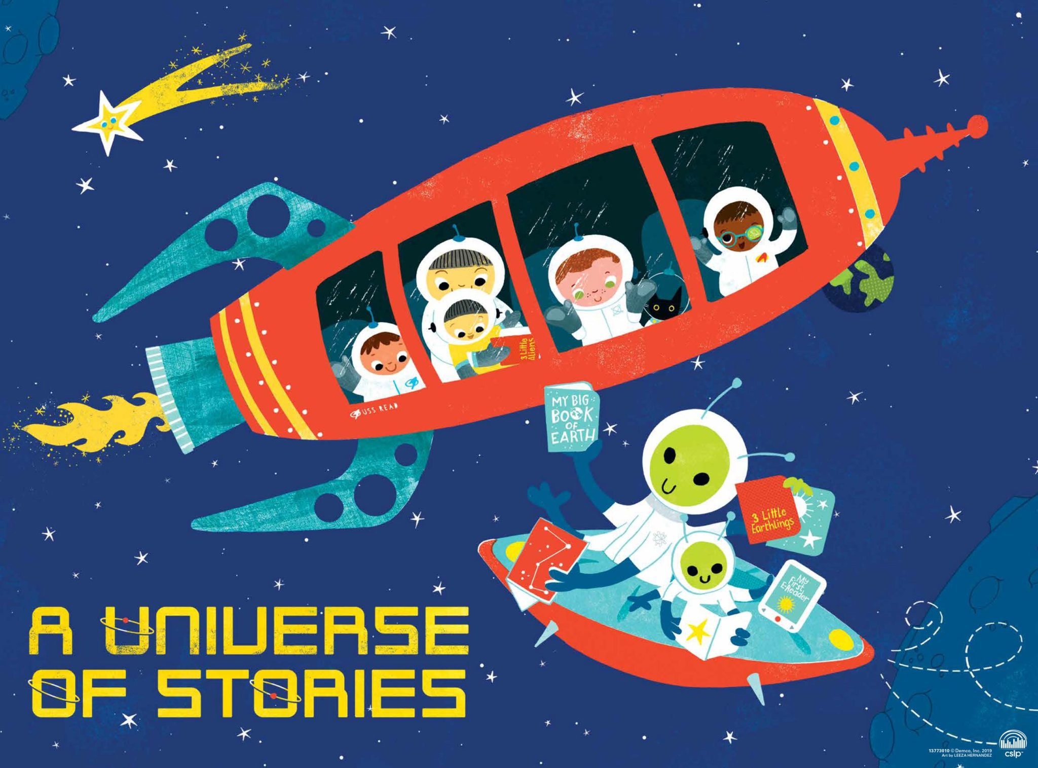 A Universe of Stories Promotes Reading and Learning