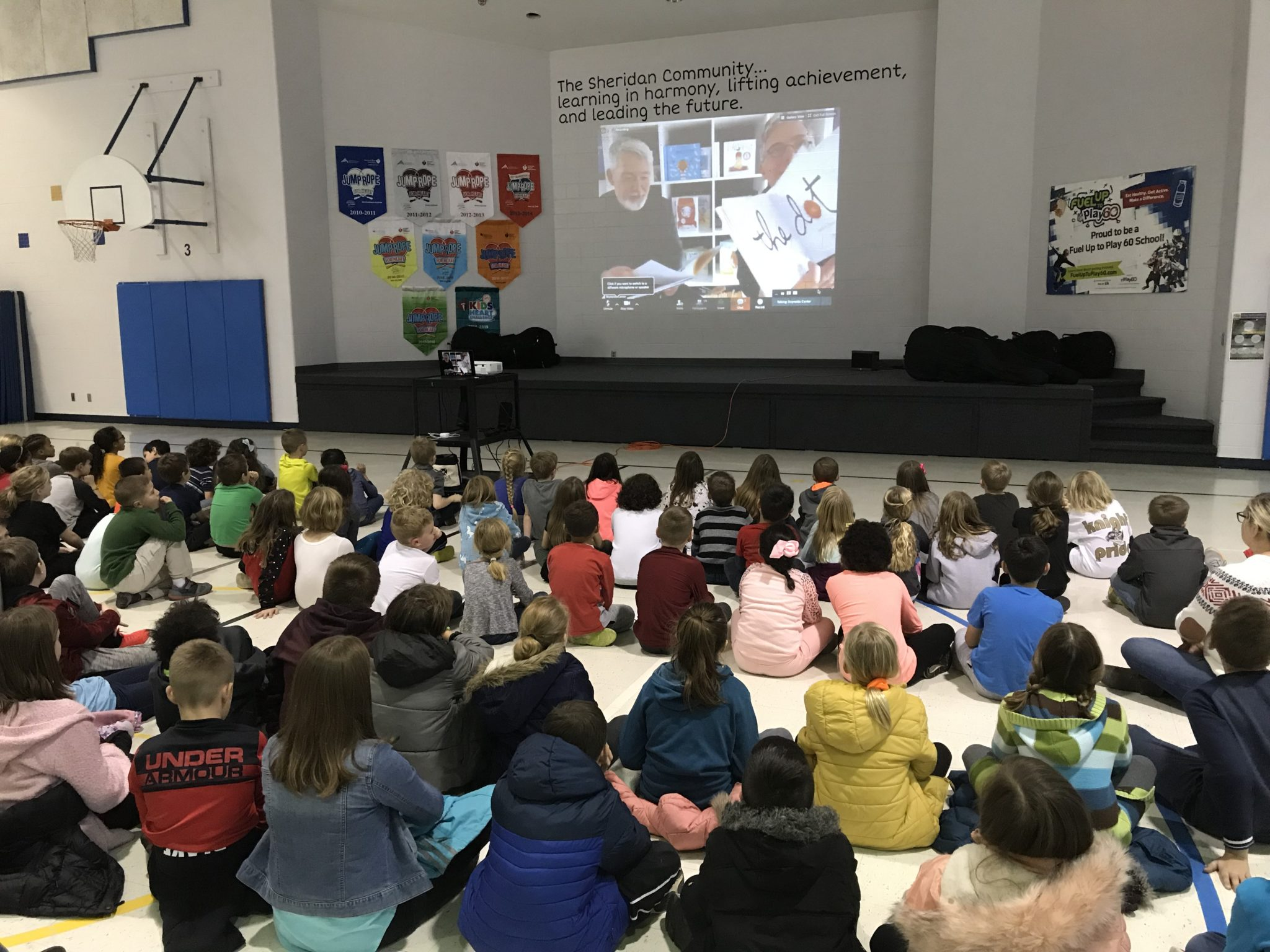 Authors Peter and Paul Reynolds' Visit Inspires Students