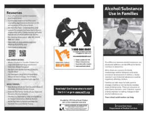 Alcohol Substance Use in Families