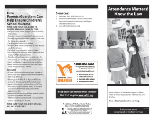 Attendance Matters-Brochure